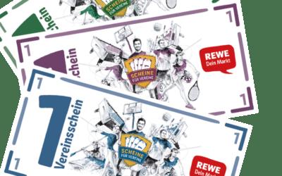"""REWE-Aktion """"Scheine für Vereine"""": Das große Sammeln geht wieder los!"""