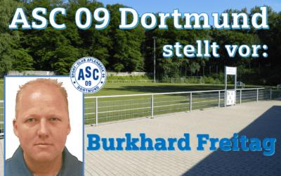 Im Portrait: Burkhard Freitag – ASC Juniorenfußball stellt weiteren Neuzugang vor