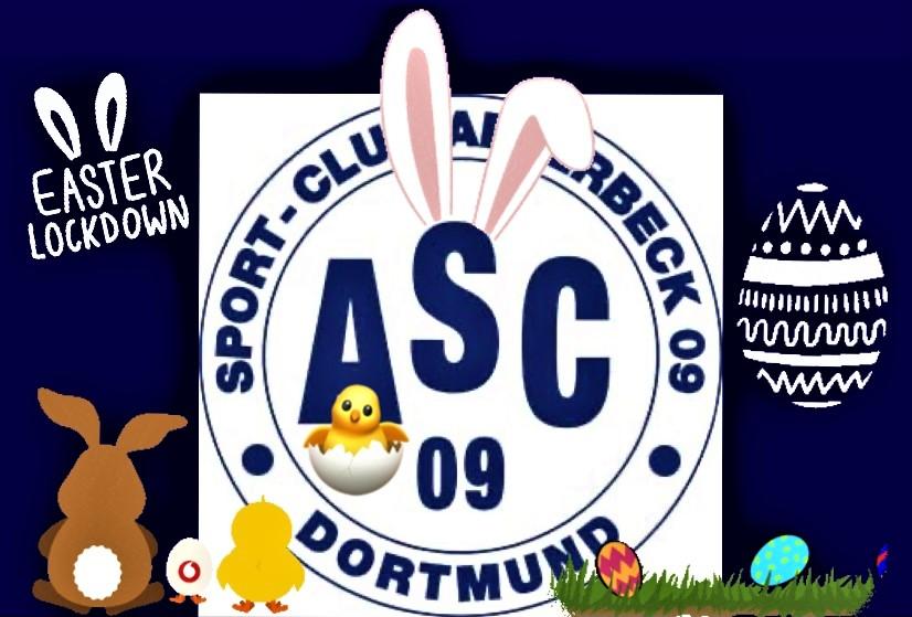 Der ASC 09 wünscht allen Mitgliedern, Freunden und Unterstützern frohe Ostertage!