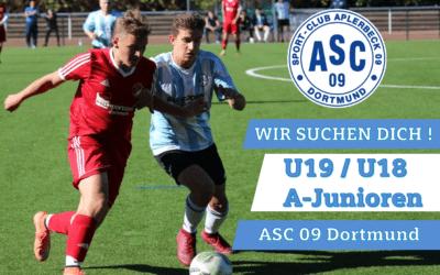 U19 / U18-Juniorenspieler gesucht (A-Junioren)