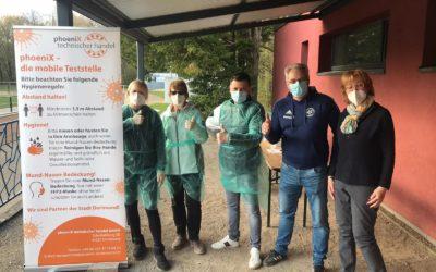Fünf Tage Corona-Antigen-Teststation – Fünf Tage Training unter strengen Auflagen