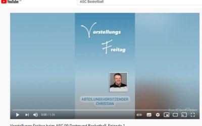 Lernt uns kennen – neue Video-Serie auf Youtube