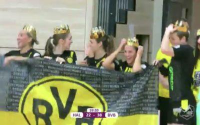 Der ASC 09 gratuliert den Handball-Damen des BVB zur Deutschen Meisterschaft!