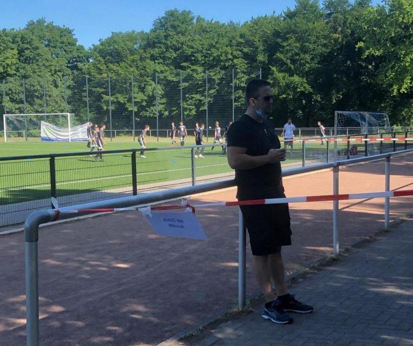 Die Geduld erschöpft sich langsam – ASC-Junioren spielen trotz wieder einmal verschärfter Auflagen