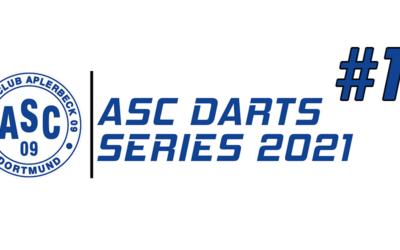 Erfolgreicher Start in die ASC Darts Series 2021!