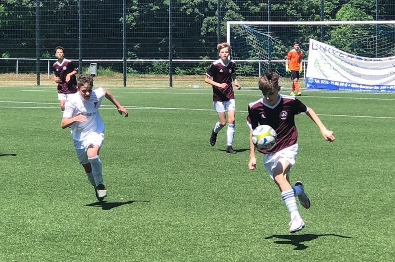 Das erste Spiel in diesem Jahr – C-Junioren schlagen RW Mülheim deutlich