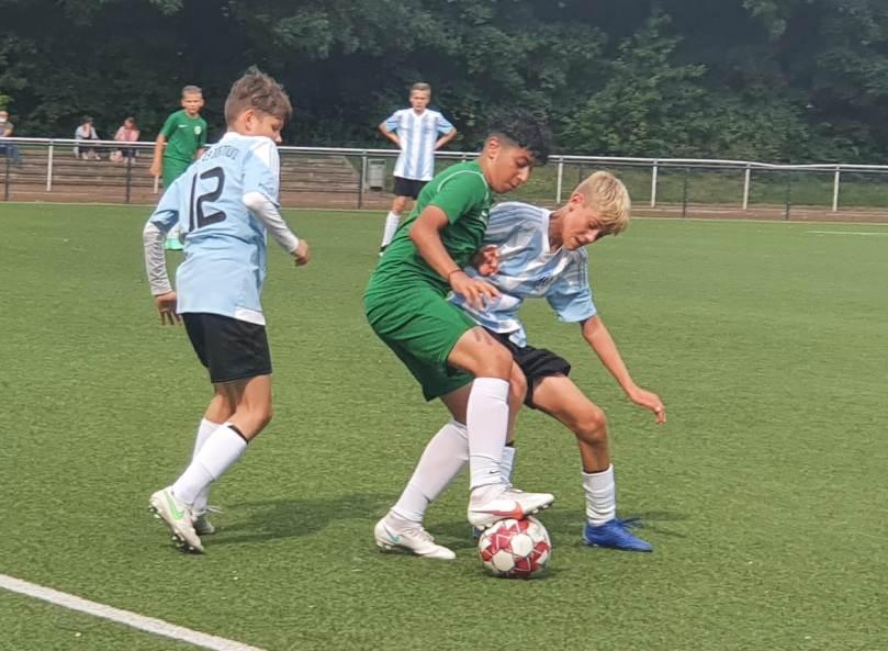 Intensive Trainingswochen und zwei Spiele – C2-Junioren mit guter Mannschaftsleistung