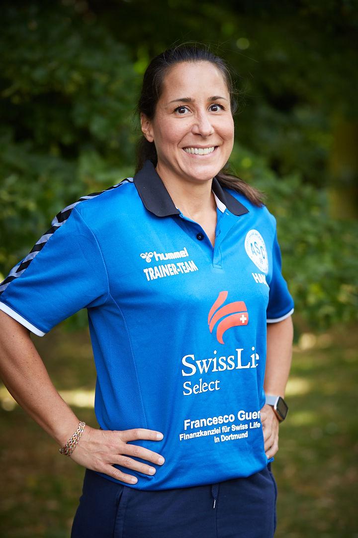 Trainerin Anne Ewert