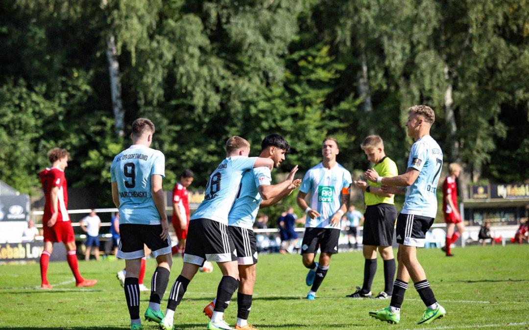 Starke 2. Hälfte beschert Oberliga-Fußballern 5:2-Sieg zum Heimauftakt