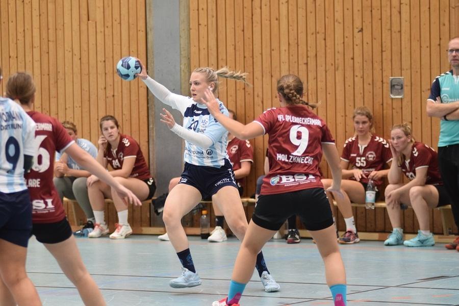 Bezirksliga, 1. Spieltag: VfL Aplerbeckermark – ASC 09 18:15 (7:7)