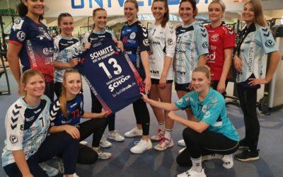 Ein XXXXL-Dankeschön für 10 Jahre Partnerschaft ASC 09 Handball & UNIVERSUM Fity-Gym