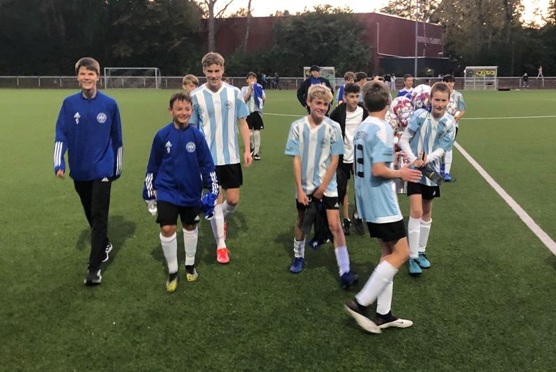 In der Nachspielzeit – C2-Junioren schlagen den Tabellenführer