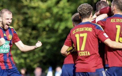 3:0 gegen Hamm: ASC 09 bejubelt Münzels Doppelpack – U23 mit Punkt in Körne