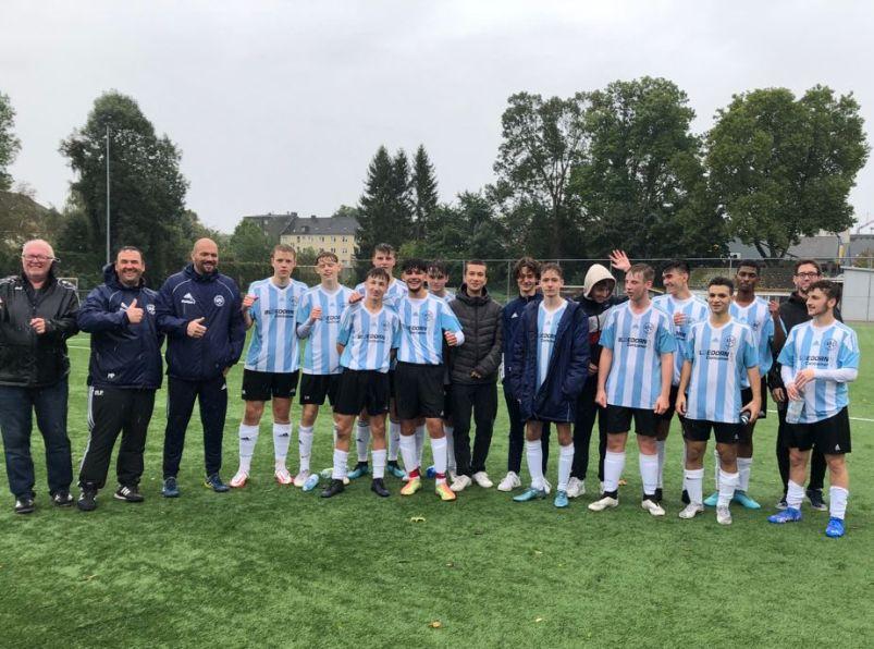 Vierter Sieg in Serie – A1-Junioren übernehmen Tabellenspitze