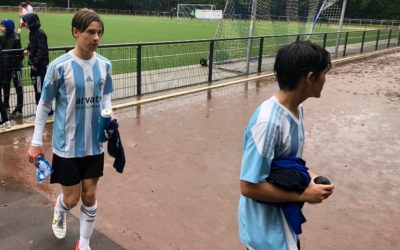 B1-Junioren übernehmen nach klarem Sieg die Tabellenführung in der Bezirksliga